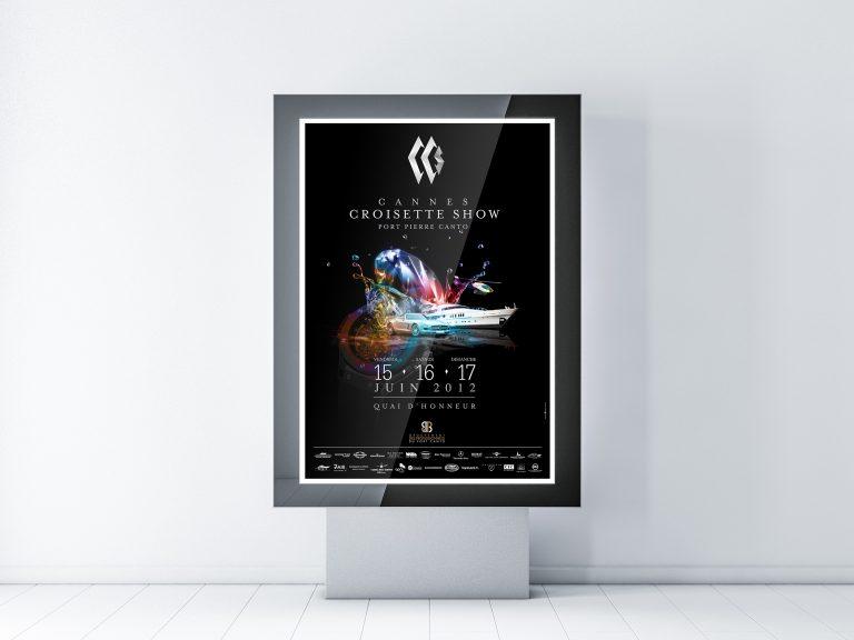 Simu affiche cannes croisette show