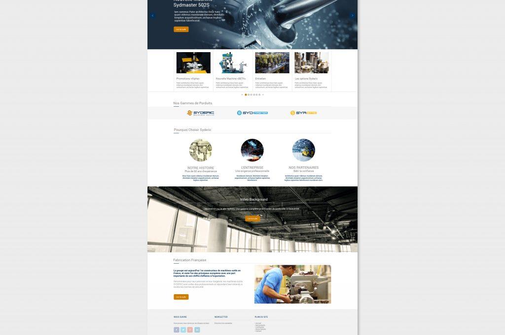 Syderic Web Piste 2 B mega menu