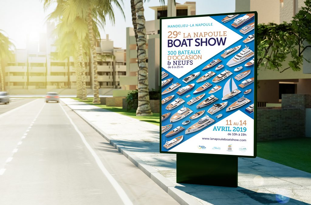 Boat Show 2019 simu affiche