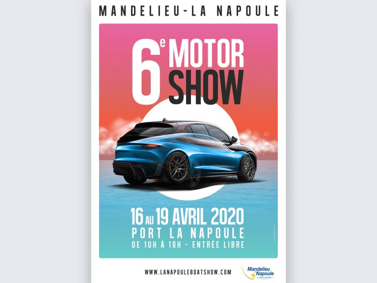 Affiche 40x60 Salon 6e Motor Show 2020 copie