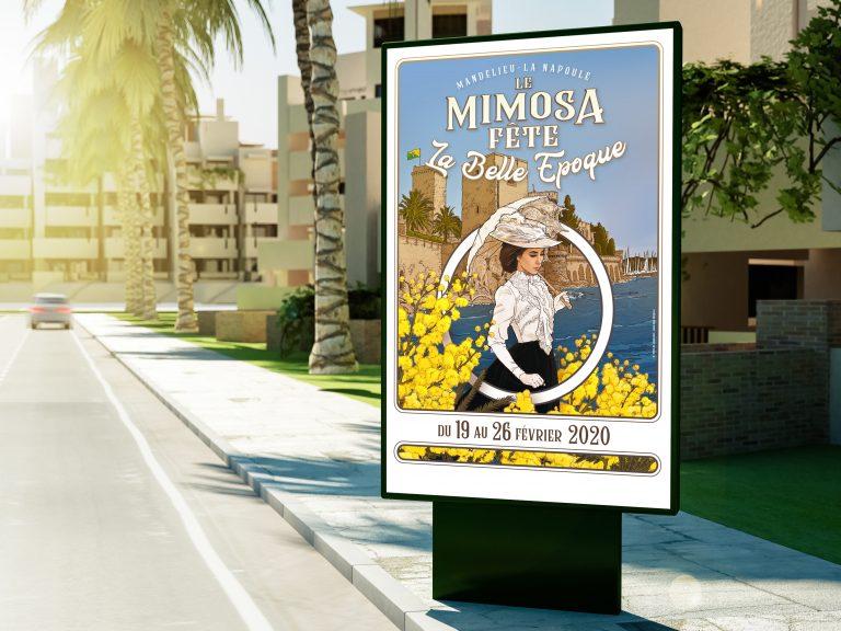 Affiche Mimosa final simu