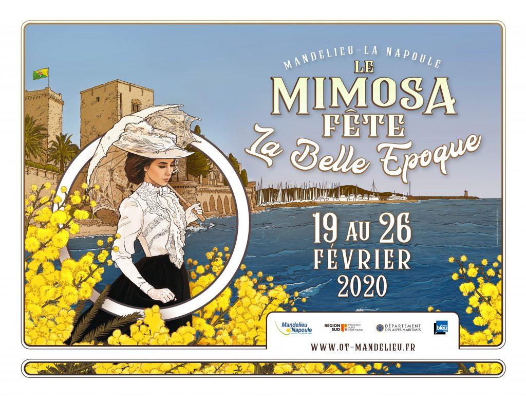 Affiche Mimosa 320x240cm